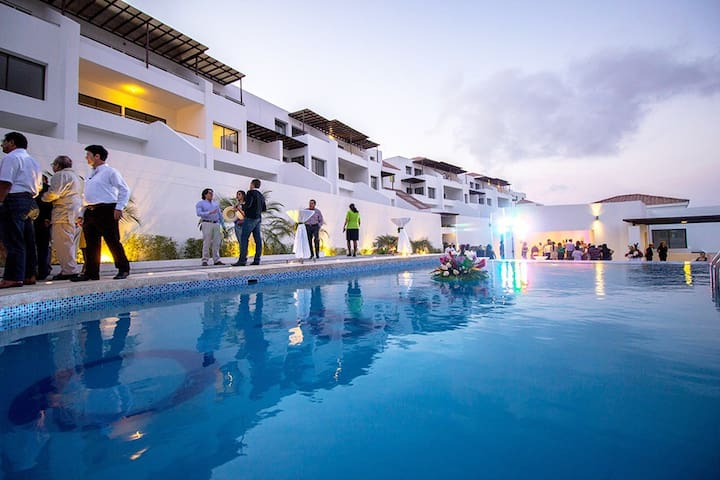 Condominium 2BD Montecristi Golf - Montecristi - Lejlighed