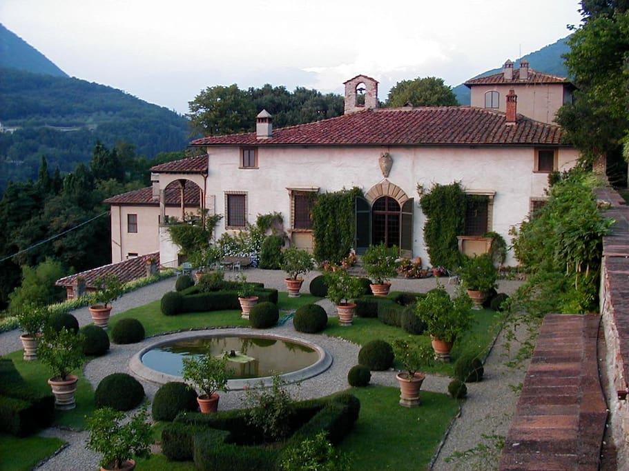 Villa rucellai bed and breakfast prato tuscany for Chambre hote italie