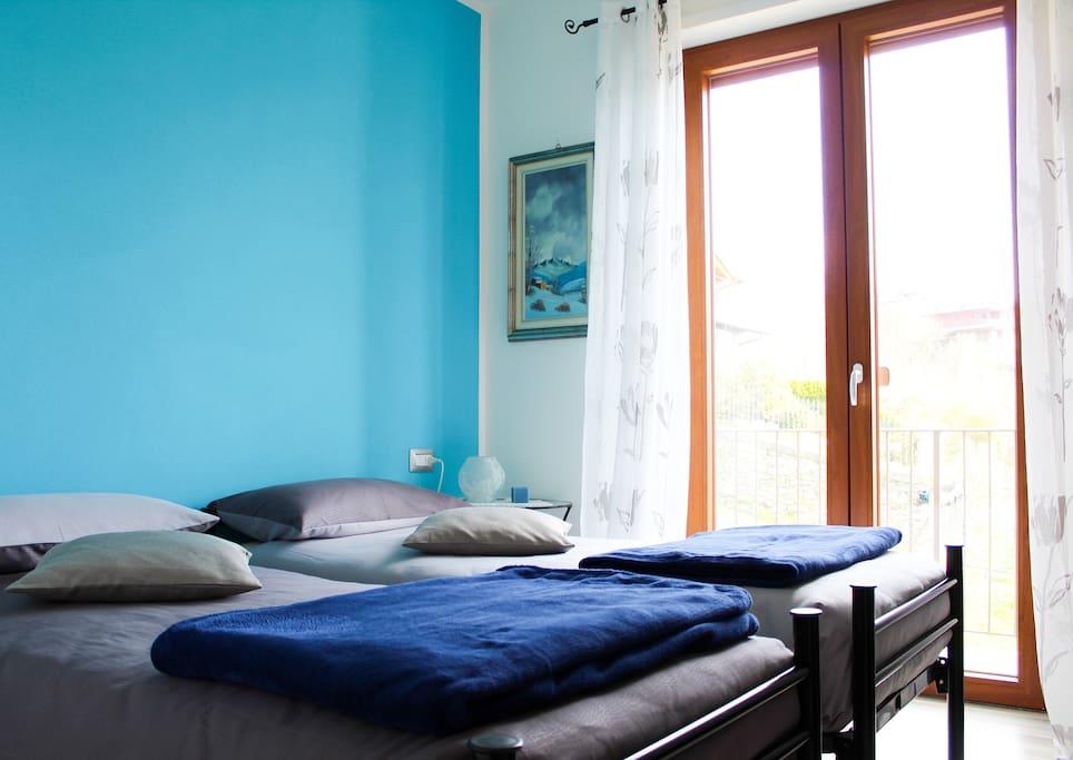 4 verbena camera doppia con balcone pernottamento e - Colazione al letto ...