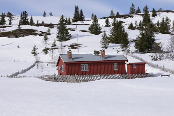 Cosy, traditional cabin in beautiful mountain area - Sør-Fron - Sommerhus/hytte