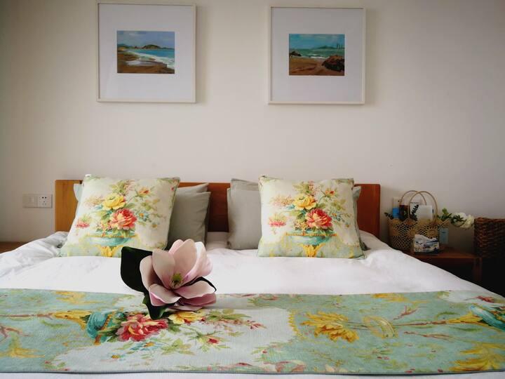 天悦湾度假村二居室海景公寓8号楼604室Two-bedroom Seascape Apartment