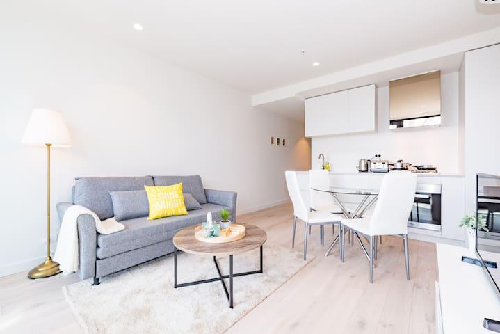 EQ New Aprt/CBD Heart/100m~Central - Melbourne - Appartement