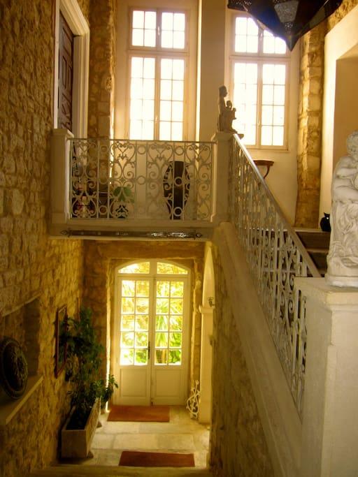 Renaissance stairwell.