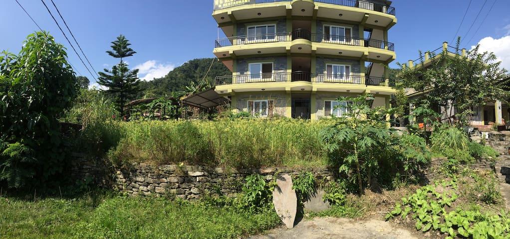 Peaceful farm house near Lakeside, Pokhara