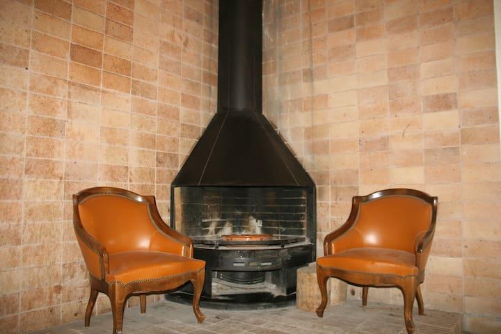 ¿¿¿Algo mejor que una noche de invierno al calor de la lumbre de la chimenea????
