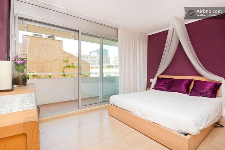 Duplex Room Suite next the beach - Barcelona - Bed & Breakfast