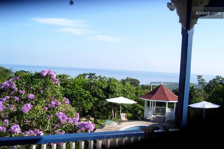 Beautiful Panoramic Caribbean Sea Views with Pool - St. Ann's Bay - Huoneisto