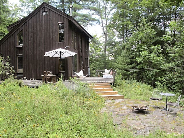 Cozy cabin in the Berkshires - Otis - Kabin