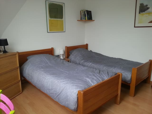 2BEDS private bathroom town center - Luxembourg - Apartemen