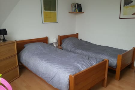 2BEDS private bathroom town center - Luxembourg - Apartment