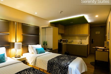 2 Beds Comfortable Studio in Antel Hotel - Makati - Wohnung