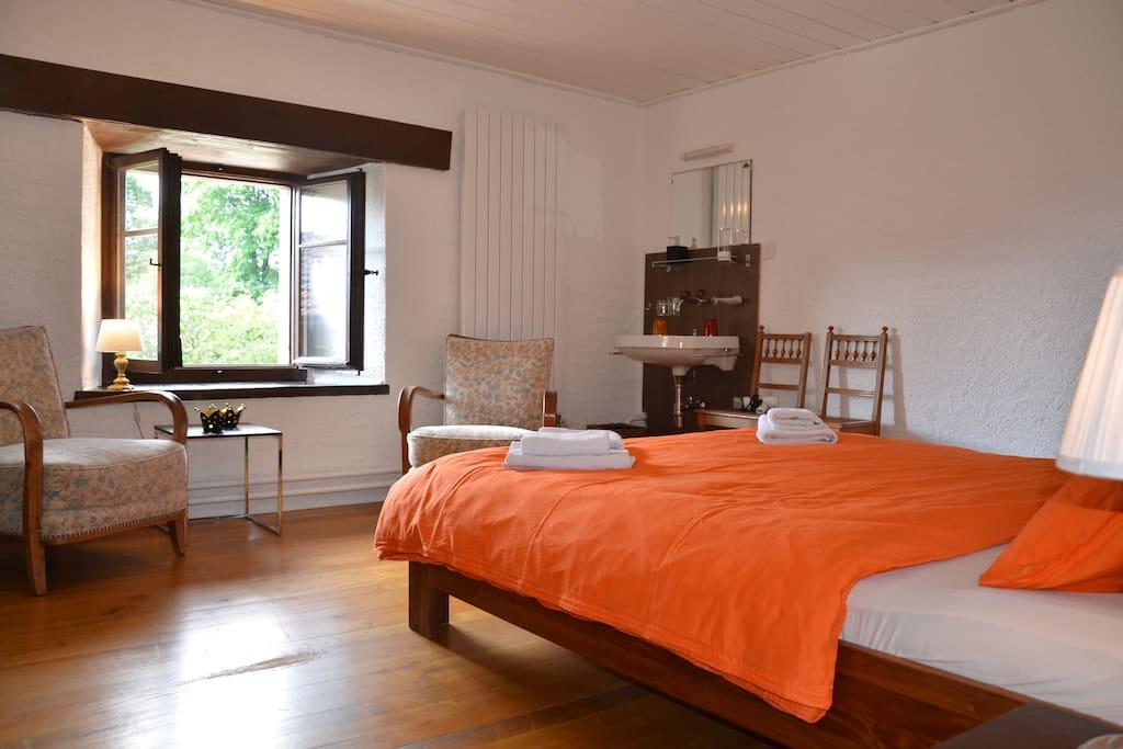 room Chasseral @ BnB Wonderlandscape  www.wonderlandscape.ch  Le Chaumont 4 2350 Saignelégier  Jura, Switzerland