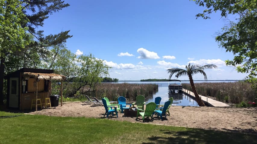 Pelican Lake guest cabin by resort! - Pequot Lakes - Cabane