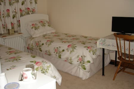Beautiful Rural View of South Downs - Bed & Breakfast