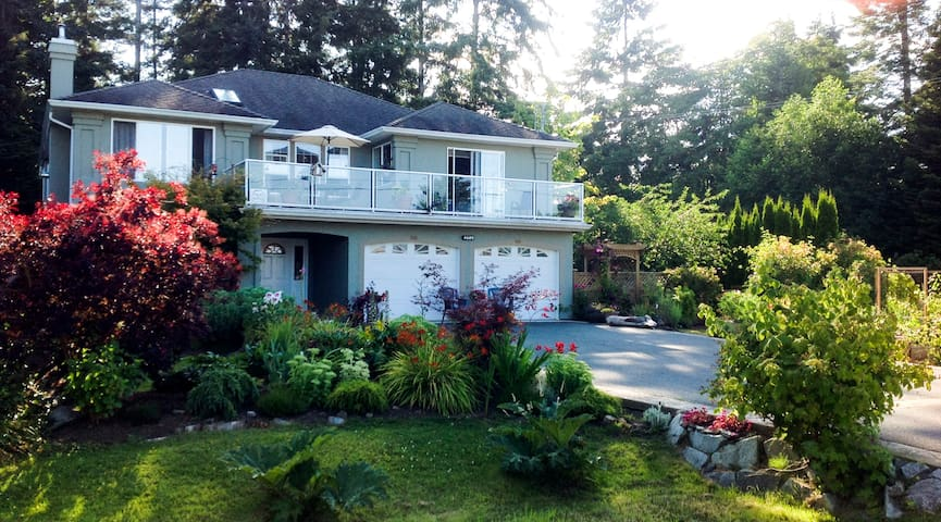 TREE ISLAND B&B- Sunrise Guest Room - Courtenay - Bed & Breakfast