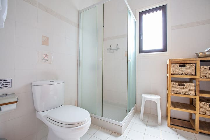 En Suite Bathroom with shower and WC