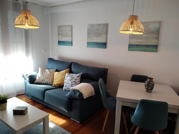 Coqueto apartamento con preciosas  vistas