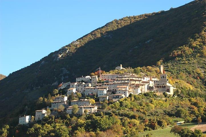THE CAMPI CASTLE NORCIA - Campi - Casa