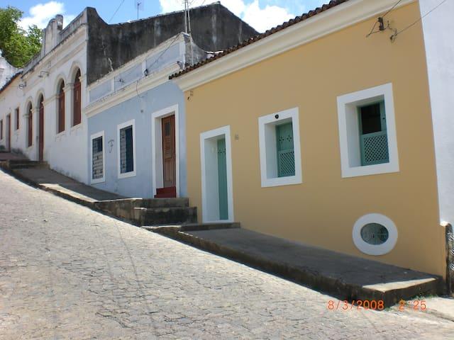 Casa charmosa  no sítio histórico - Olinda - Casa
