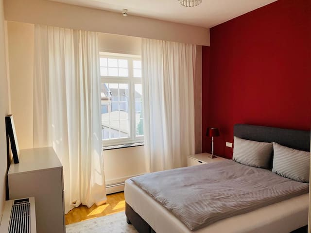 Private room in a large apartment with 2 bedrooms