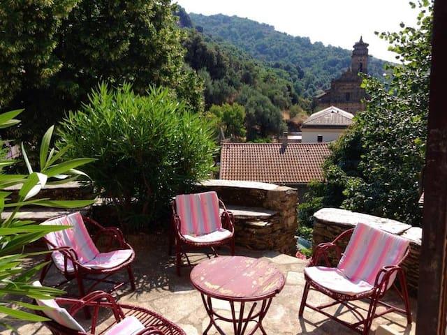 Maison de village en Haute Corse - Volpajola - Rumah