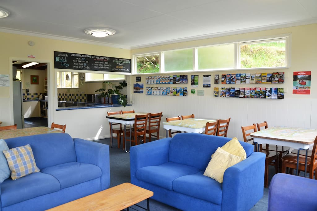 Communal lounge and dining area