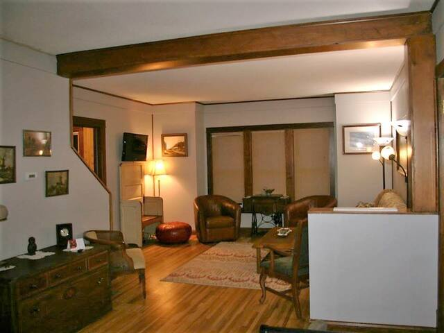 West side of living room