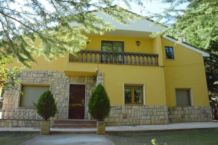 Casa Martín:  casa con jardín al lado de Teruel