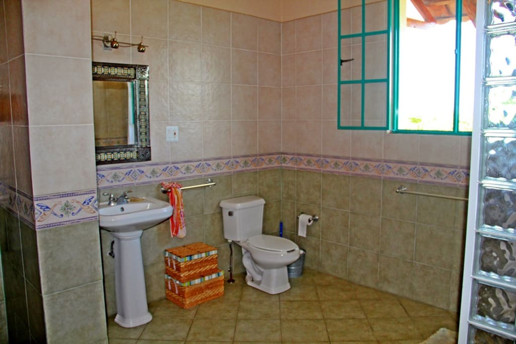 Your shared bathroom on the second floor