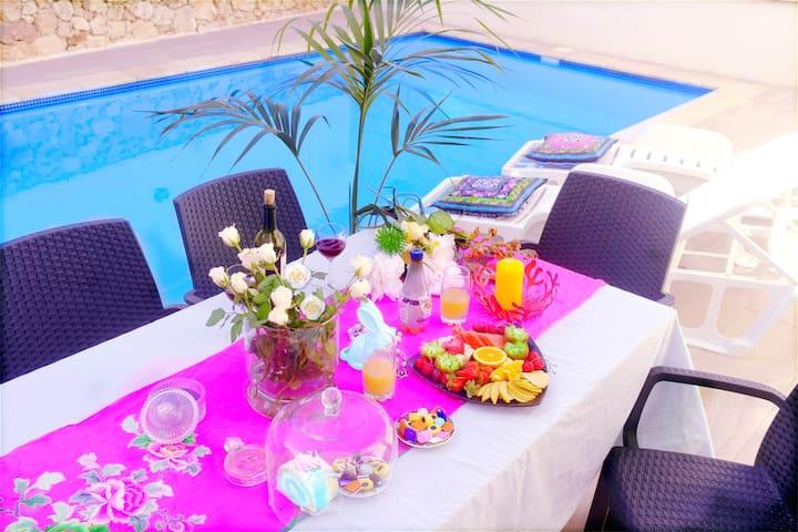Private Room in Elegant Farmhouse near Ramla Bay - In-Nadur - Villa
