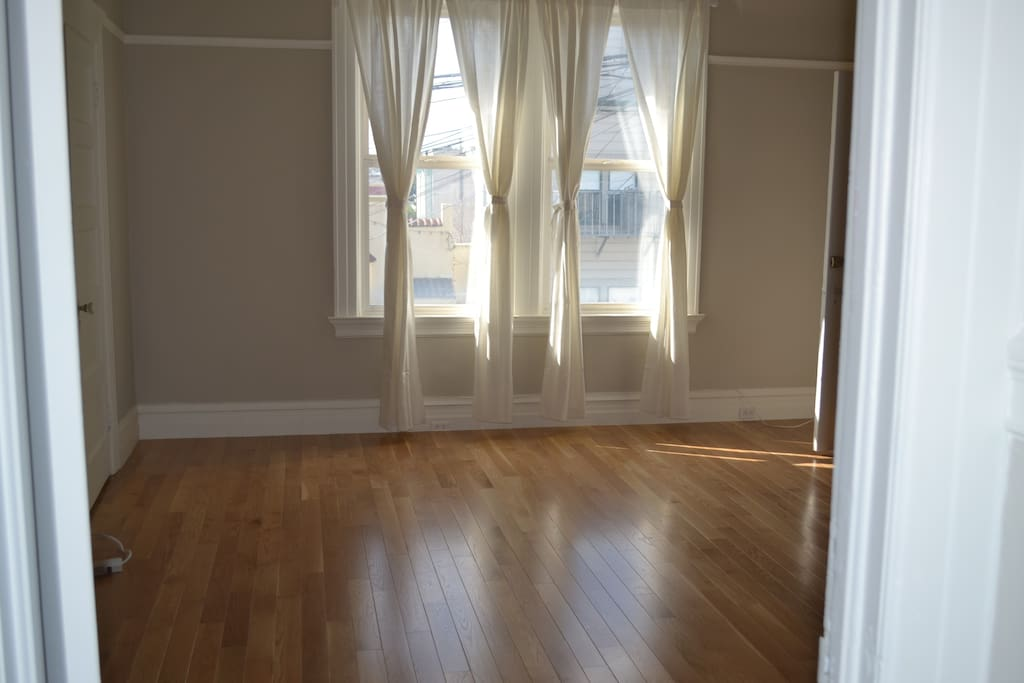 Hardwood floors and great light throughout.