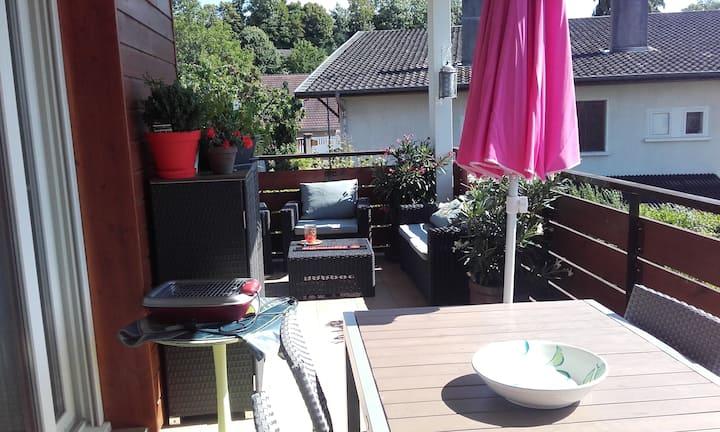 Chambre privée+petit déjeuner appart 10mn Annecy