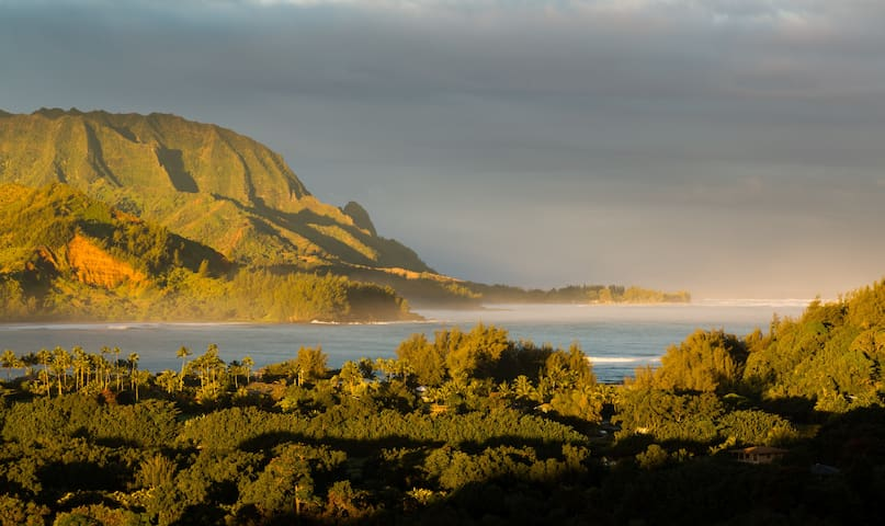 New!! Hale Moana with Mountain & Ocean Views - Princeville - House