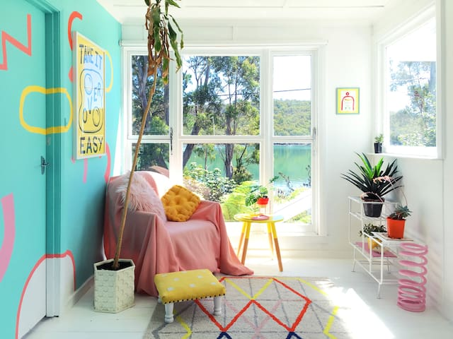 Beautiful 1960's design shack - Taranna - Casa