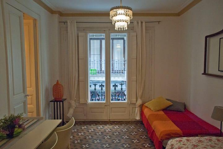 Un classico appartamento nel Gotico