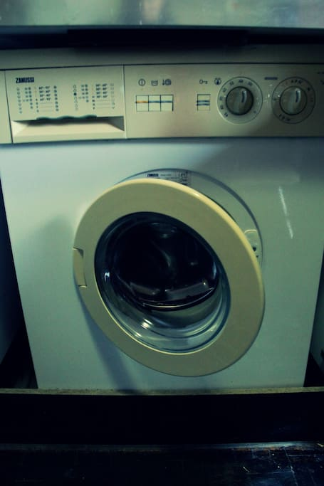 a washing machine is available for your use