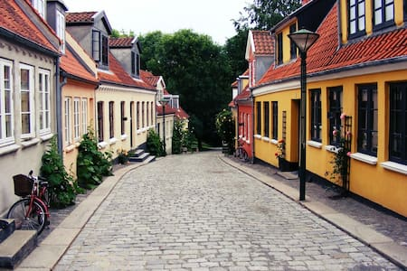 Byhus i H.C. Andersens kvarter - Odense - Talo