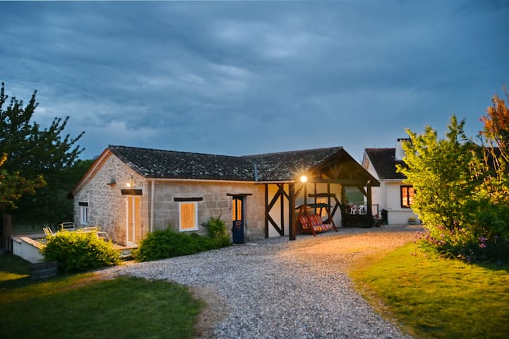 Spacious, scenic rural gite with views & pool