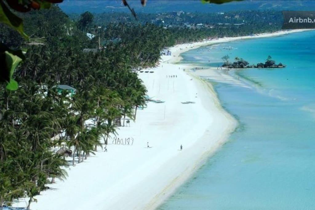 Boracay main white beach