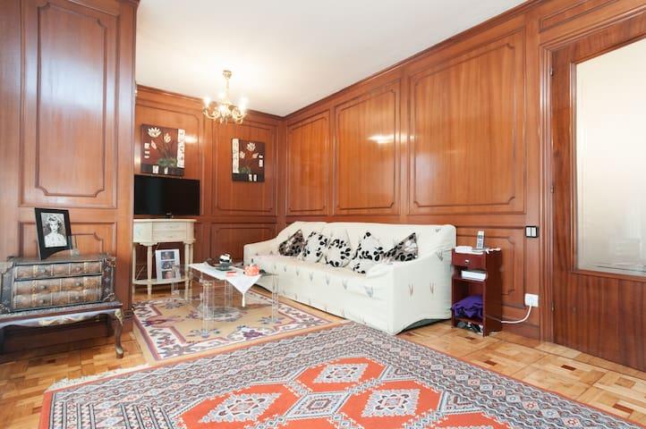 2 habitaciones con 2 camas individuales de 90cm
