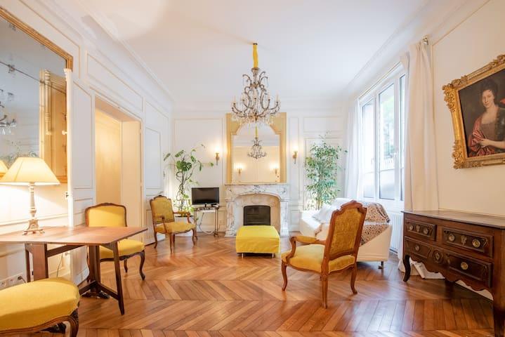 L'appartement des Buttes Chaumont