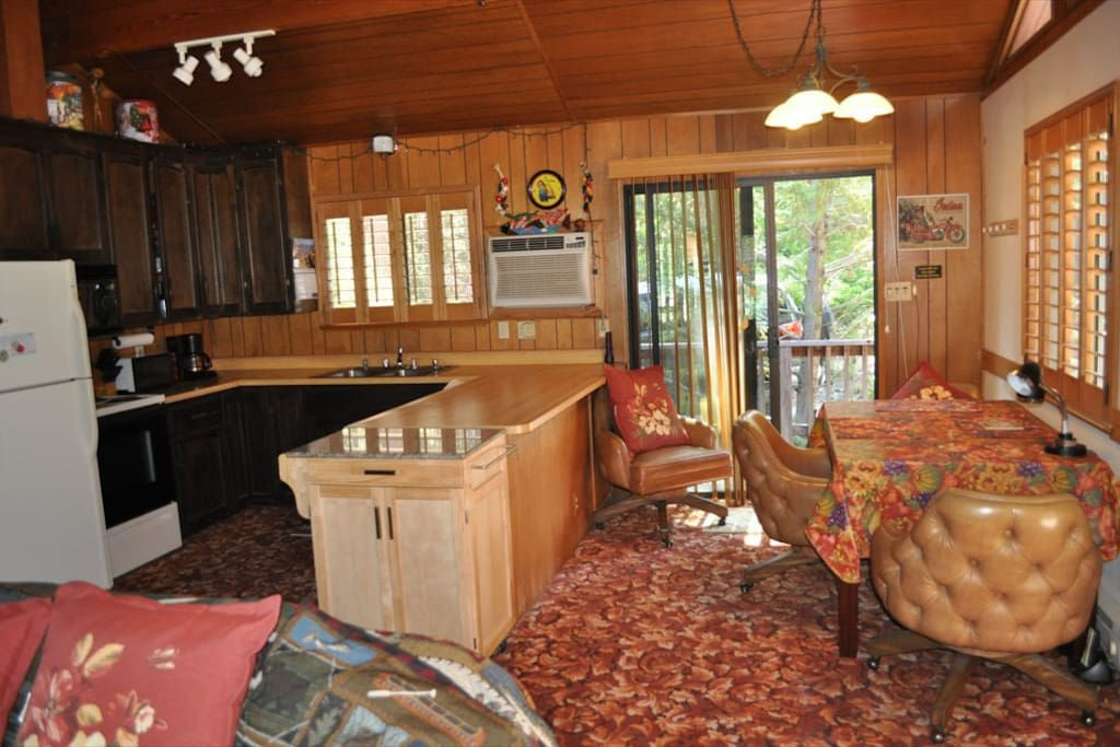 The Hideout. Pet Friendly Pine Mountain Lake Vacation Rental, located just 25 miles from the entrance of Yosemite, Hwy 120 corridor. Unit 8 Lot 69
