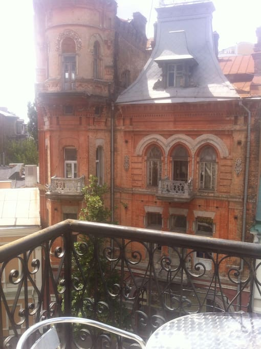 View from a balcon