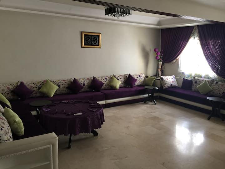 appartement de luxe a wilaya de tetouan 130 m^
