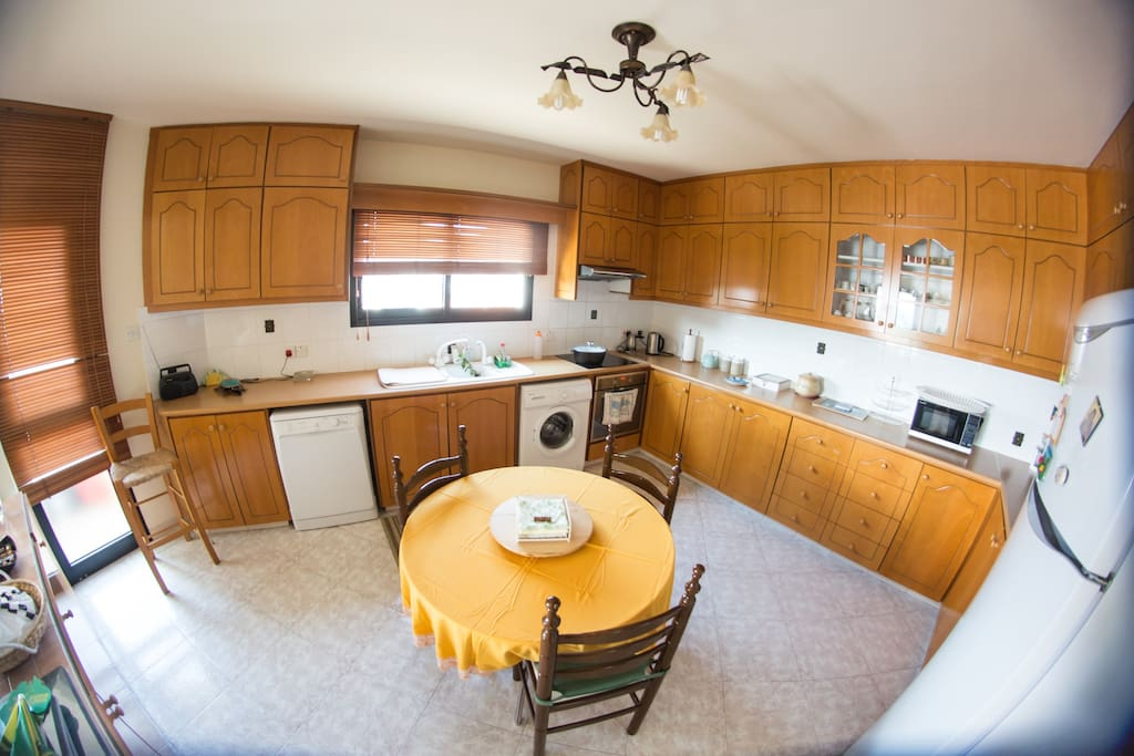 Fully equipped kitchen! You will find anything you need!