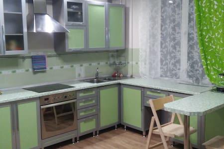 "Апартаменты ""CITY-HALL"" Элитная 3-комнатная. - Novosibirsk - Apartamento com serviços incluídos"