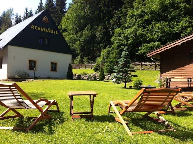 Idyllic mountain holiday house - Altenberg OT Fürstenwalde - Casa