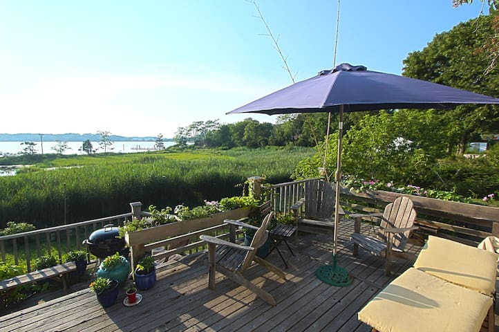 Best water view in Sag Harbor  - Sag Harbor - Hus