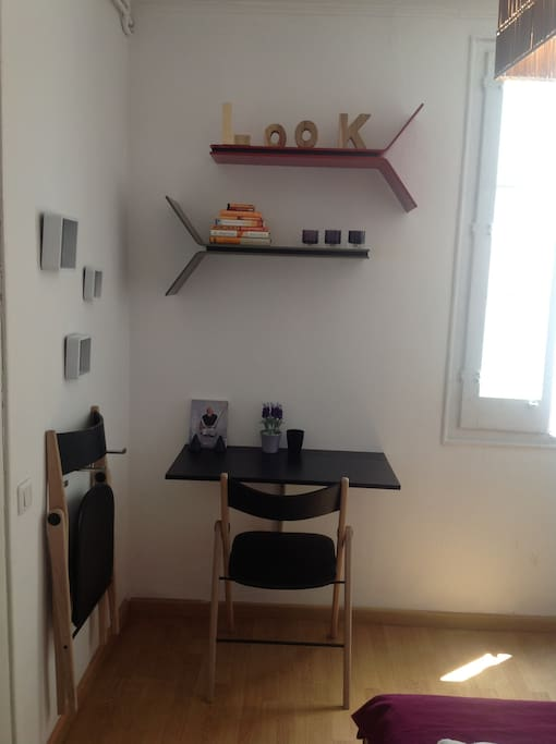 Purple Petite comfortable room