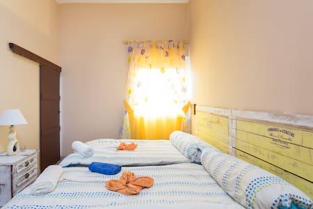 CMTM Habitación doble con baño compartido - Granadilla - Bed & Breakfast